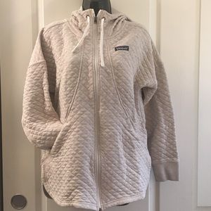 Patagonia Cotton Quilt Hoodie Oatmeal Color